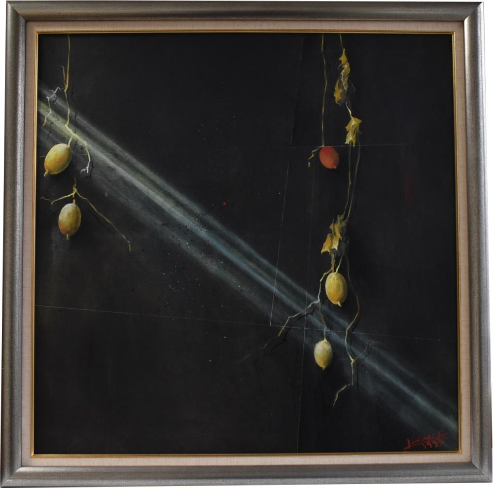 画家 古川秀昭 「1999年祝された静物」20号 - 骨董品買取は美術三冬花 ...